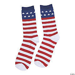 Adult's Patriotic Socks
