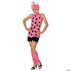 Adult's Pebbles Flintstone Costume