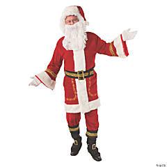 Adult's Premium Classic Santa Claus Costume - Standard