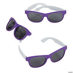 efaa727237 Adult s Purple   White Two-Tone Sunglasses - 12 ...