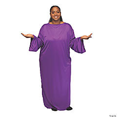 Adult's Purple Plus-Size Nativity Gown