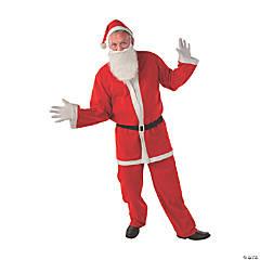 Adult's Simply Santa Costume - Standard