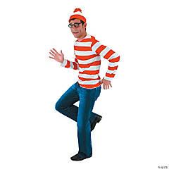 Adult's Where's Waldo Costume Kit - Small/Medium