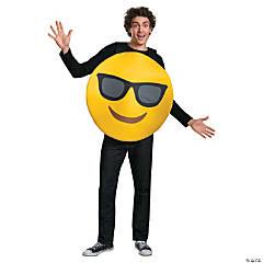 Adult Sunglasses Emoji Sandwich Board Costume