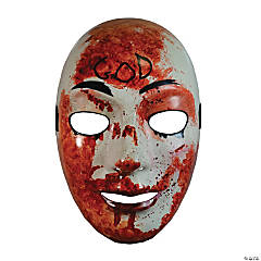 Adult The Purge Bloody God Mask