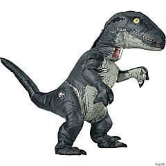 Adult Velociraptor Inflatable Costume