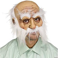 Adult Wisker Walter Old Man Mask