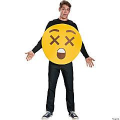 Adult X-Ray Eyes Emoji Sandwich Board Costume