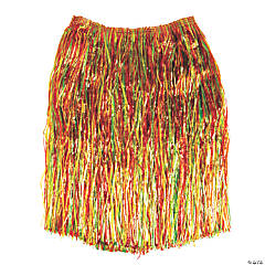 Adult's Artificial Green Grass Hula Skirts