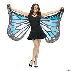 Adult's Blue Soft Butterfly Wings