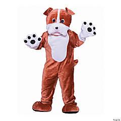 Adult's Bulldog Mascot Costume