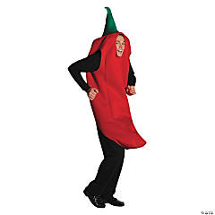 Adult's Chili Pepper Costume