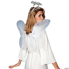 Adults Christmas Pageant Angel Accessory Kit