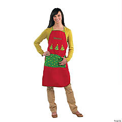 Adult's Christmas Personalized Apron