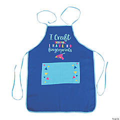 Adult's Crafty Canvas Apron