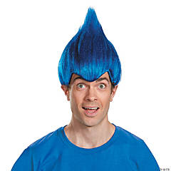 Adult's Dark Blue Wacky Wig