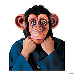 Adult's Deluxe Chimp Mask