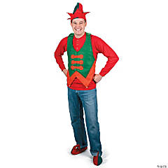 Adult's Felt Elf Vest
