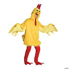 Adult's Fuzzy Chicken Costume