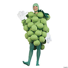 Adult's Grapes Green Costume