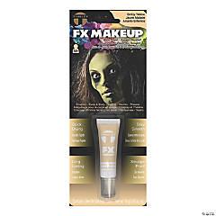 Adults Halloween Makeup - Sick Yellow