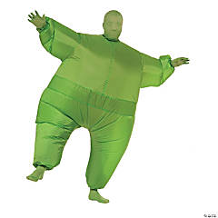 Adult's Inflatable Green Suit Costume