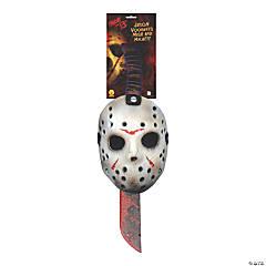 Adult's Jason Mask and Toy Machete