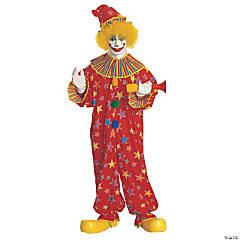 Adult's Jumpsuit Clown Costume