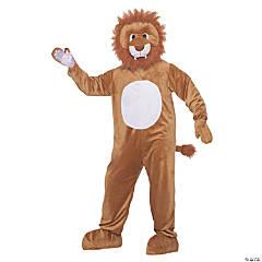 Adult's Leo The Lion Mascot Costume