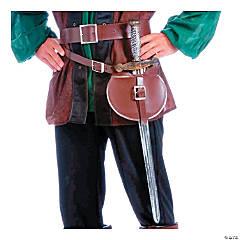 Adult's Medieval Belt & Sword