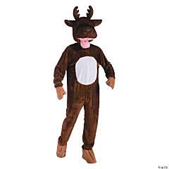 Adult's Moose Mascot Costume