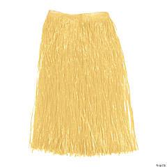 Adult's Natural Color Hula Skirt