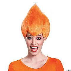 Adult's Orange Wacky Wig