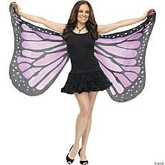 Adult's Orchid Soft Butterfly Wings