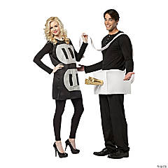 adults plug socket couples costume