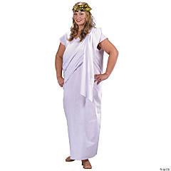 Adult's Plus Size Toga Costume
