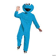 Adults Prestige Sesame Street Cookie Monster Costume