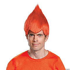 Adult's Red Wacky Wig