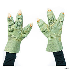 Adult's Star Wars™ Yoda Latex Hands