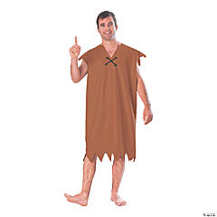 Adult's The Flintstones™ Barney Rubble Costume - Standard