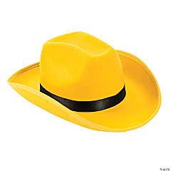 Adult s Yellow Cowboy Hat 679aec1dda8f