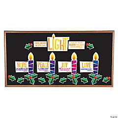 Advent Colorful Bulletin Board Set