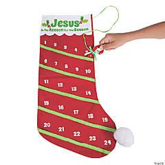 Advent Countdown Stocking