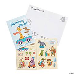 Adventure Animals Passport Sticker Books