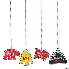 Adventure Dog Tag Necklaces