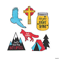 Adventure in Faith Small Cutouts