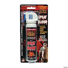 Aerosol Spray Blood