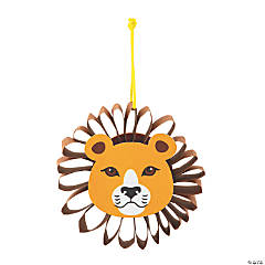 African Safari VBS 3D Lion Ornament Craft Kit