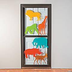 African Safari VBS Animal Window Clings