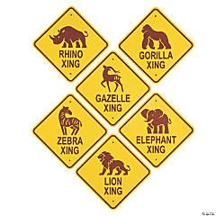 African Safari VBS Crossing Cutouts